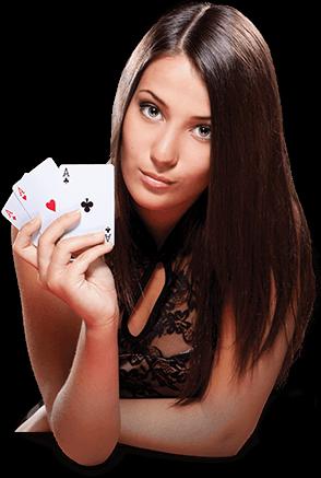 nya casino presenteras av snygg kvinna