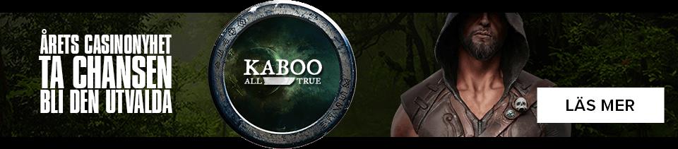 årets casino nyhet Kaboo
